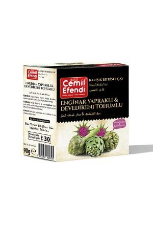 Artichoke Leaf & Milk Thistle Seed Tea 60 Pcs