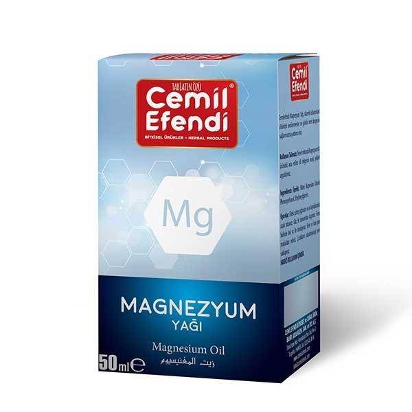 Cemilefendi Magnezyum Yağı 50 ml